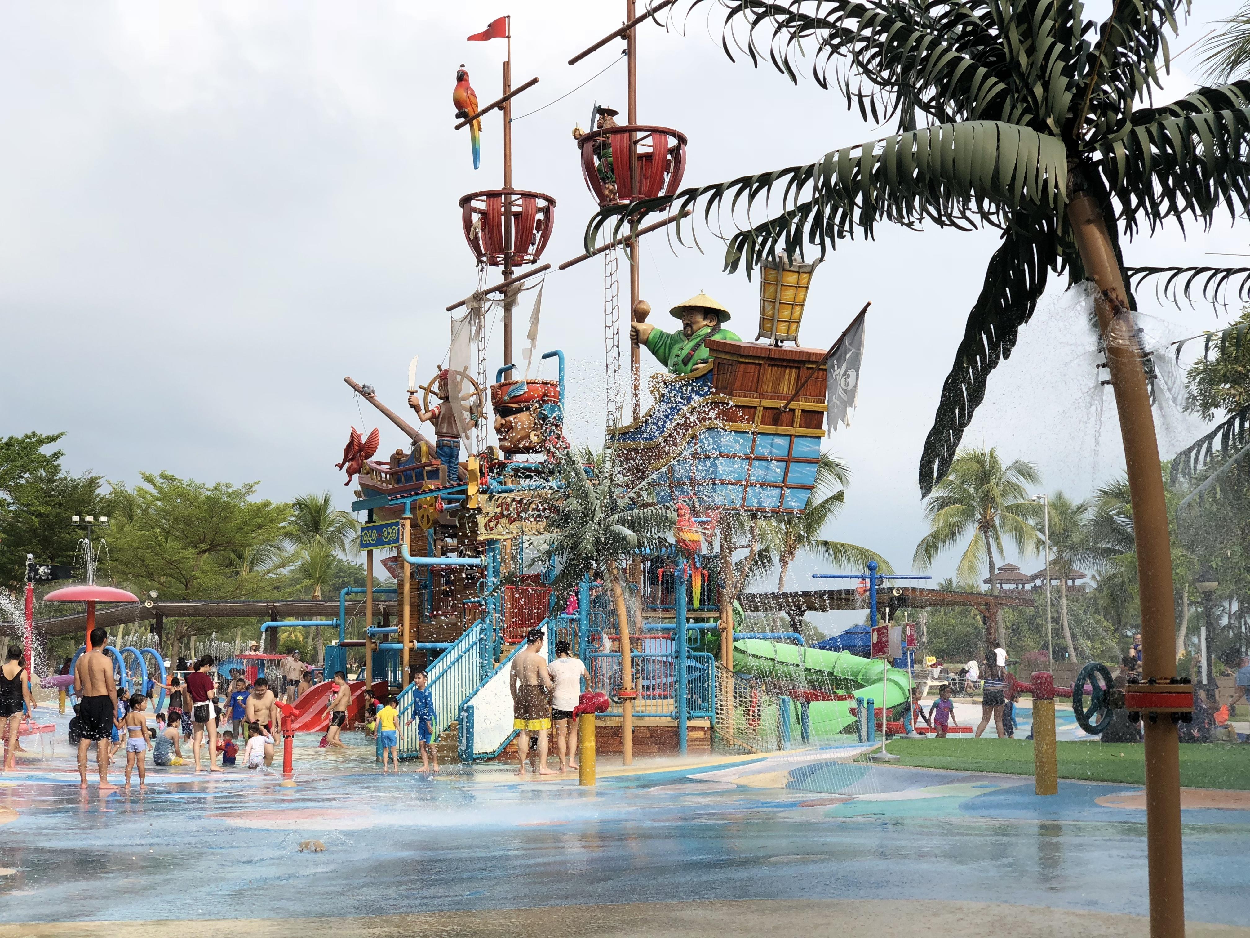 タンジョンビーチ セントーサ島のビーチが子供の楽園だった件