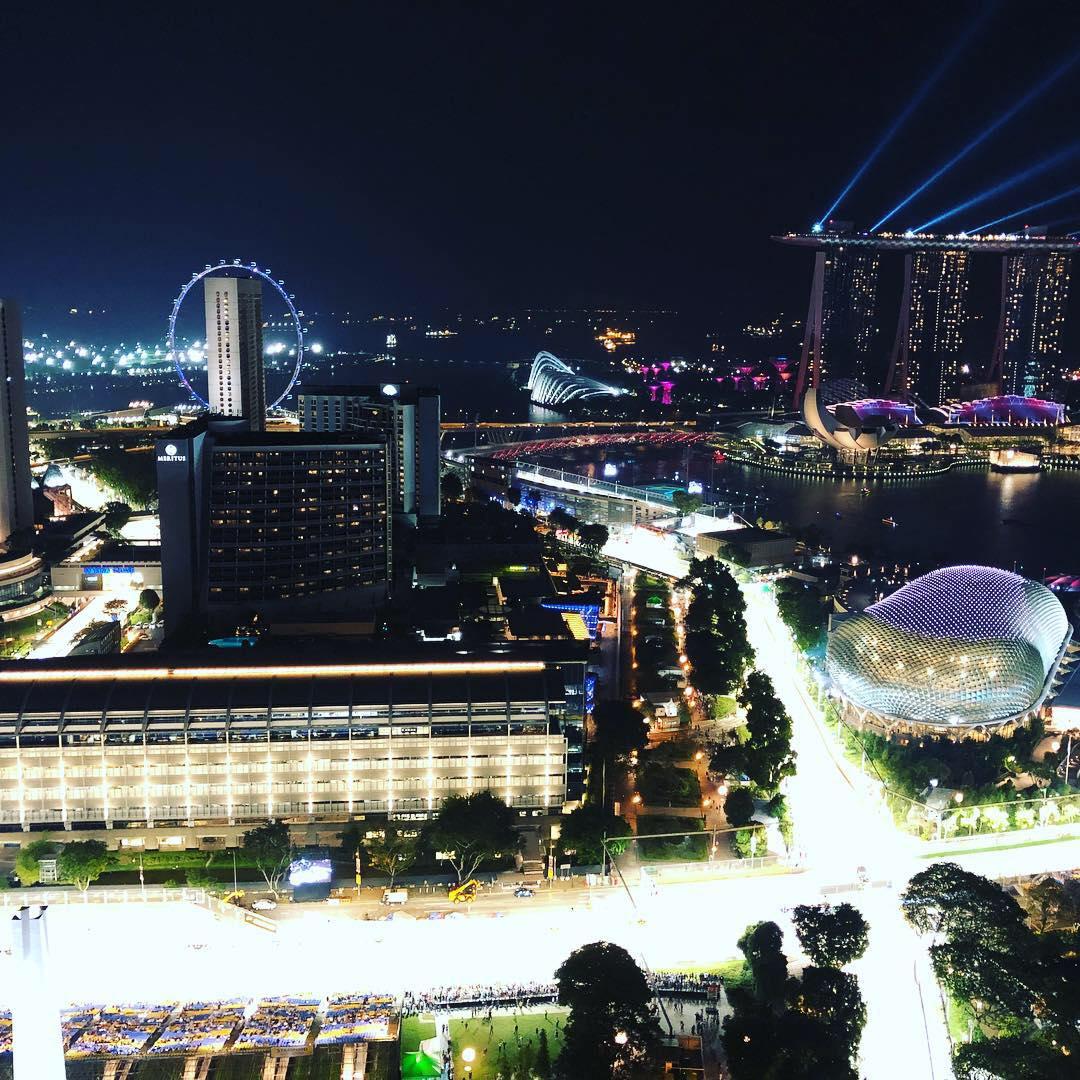 F1シンガポールを観戦してたらじわじわと感動した件