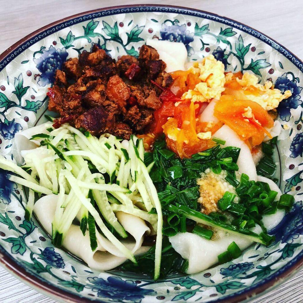 ビャンビャン麺を食べてきた話 トアパヨ シンガポール