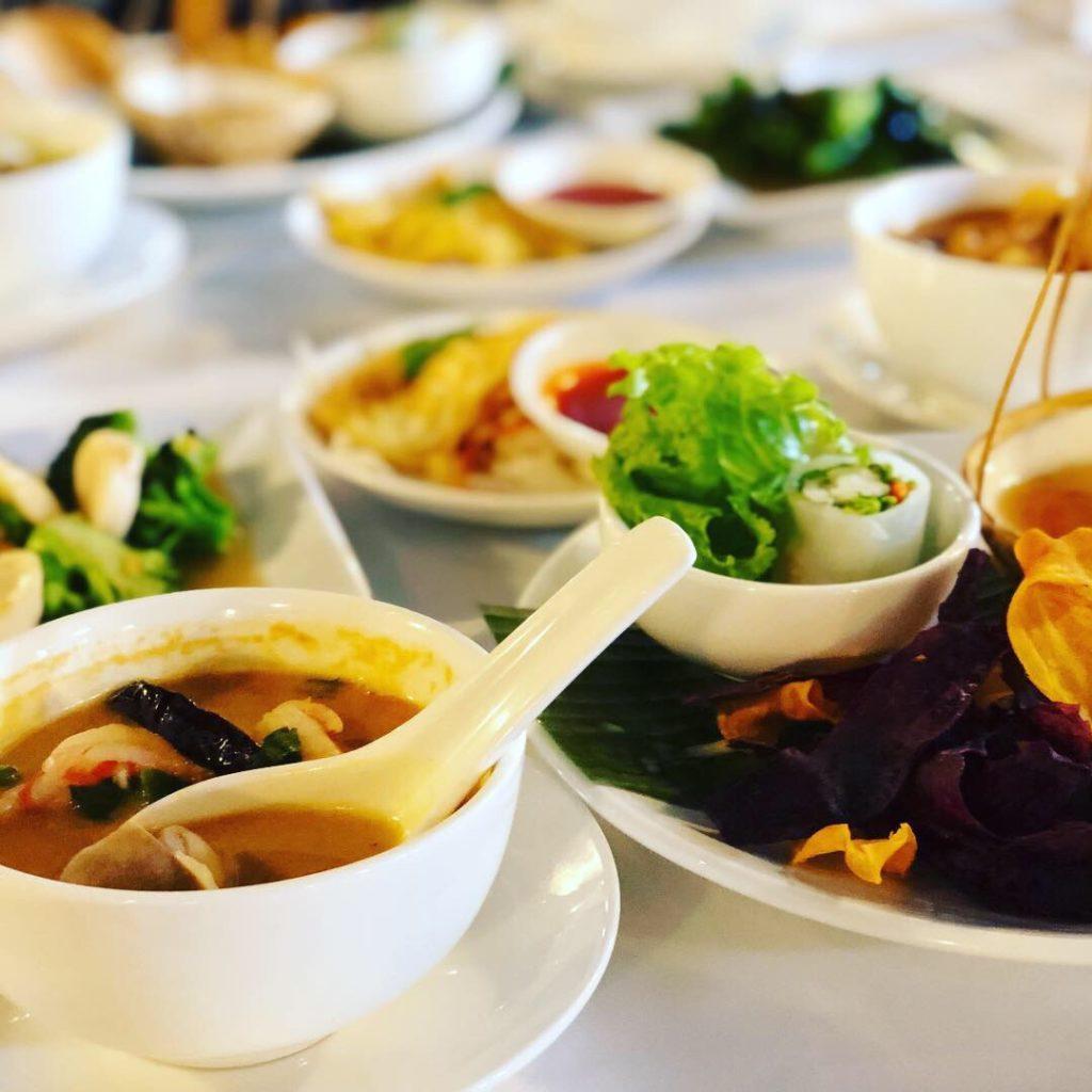 Jim Thompsonが美味しくて、素敵!シンガポールでタイ料理 ジムトンプソン
