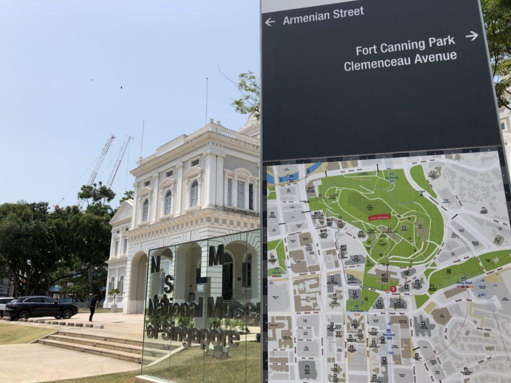 National museum ナショナルミュージアムシンガポール 日本語ガイドを聞きに行ってきました!
