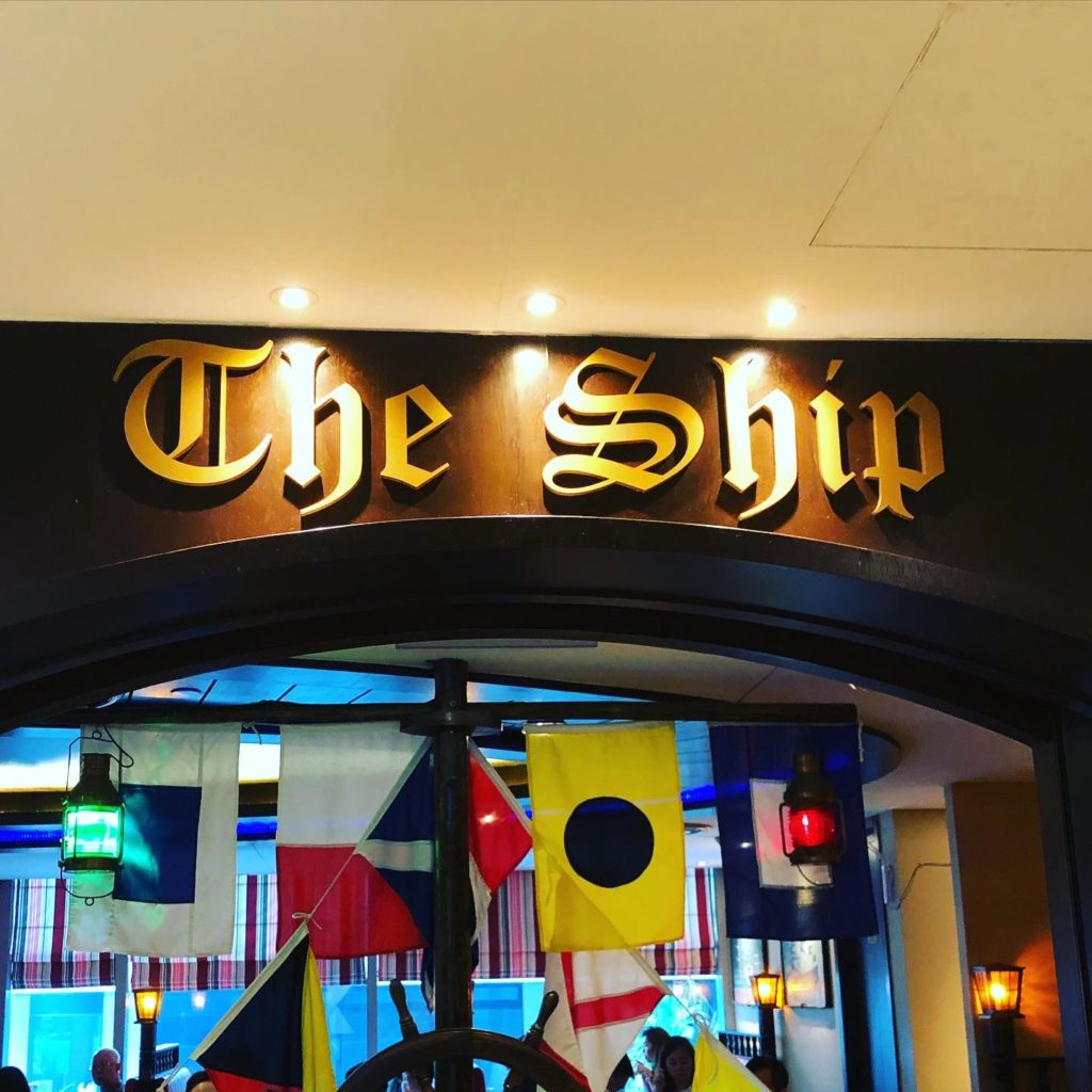 オーチャードのオススメランチ ショーセンターのレストラン The Ship